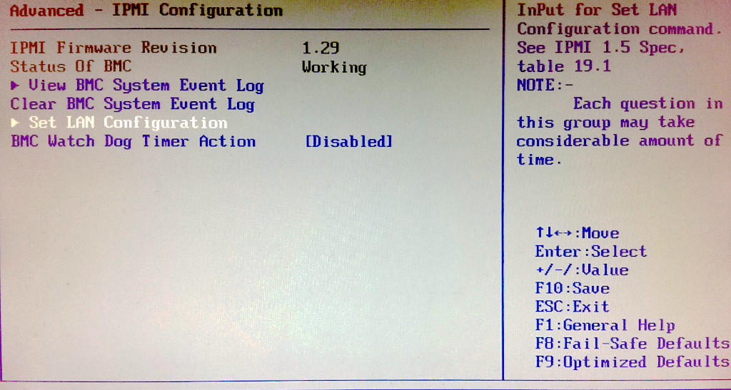 Turning off IPMI DHCP | Network Testing and Emulation