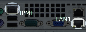 IPMI served by these ports